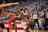 Chicago Bulls v Miami Heat - Game Three, Miami, FL - MAY 22: Mario Chalmers and C.J. Watson