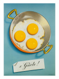 Three Fried Eggs, Guete