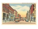 Street Scene on Water Street, Elmira, New York