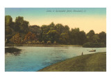Lake in Rockefeller Park, Cleveland, Ohio