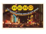Neon at Night, Reno, Nevada