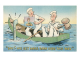 Cartoon, Sailors with Mermaid Picture