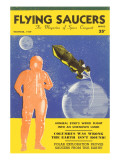 Flying Saucers Magazine Cover