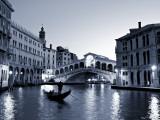 Buy Gondola by the Rialto Bridge, Grand Canal, Venice, Italy at AllPosters.com