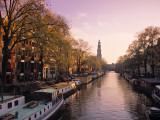 Westerkerk, Prinsengracht Canal, Amsterdam, Holland