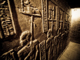 Tunnels at the Temple of Dendera, Egypt