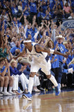 Oklahoma City Thunder v Dallas Mavericks - Game Five, Dallas, TX - MAY 25: Jason Terry