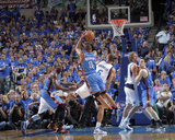 Oklahoma City Thunder v Dallas Mavericks - Game Five, Dallas, TX - MAY 25: Russell Westbrook and Ty