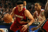 Miami Heat v Chicago Bulls - Game Five, Chicago, IL - MAY 26: Mike Bibby and Derrick Rose