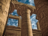 Great Hypostyle Hall at Karnak Temple, Egypt