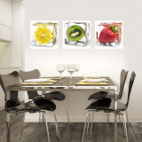 Iced Fruits Wall Decal
