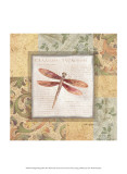 Collaged Dragonflies II