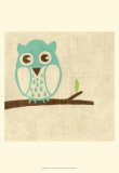 Best Friends - Owl Art Print