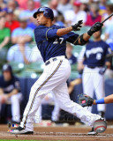 Milwaukee Brewers - Carlos Gomez 2011 Action