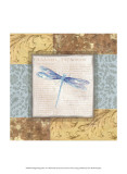 Collaged Dragonflies V
