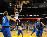 Dallas Mavericks v Miami Heat - Game Two, Miami, FL - JUNE 02: Dwyane Wade, Dirk Nowitzki and Jason