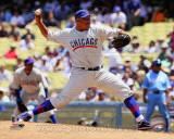 Chicago Cubs - Carlos Zambrano 2011 Action
