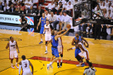 Dallas Mavericks v Miami Heat - Game One, Miami, FL - MAY 31: Dirk Nowitzki, Udonis Haslem, Chris B