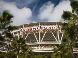Low Angle View of a Baseball Park, Petco Park, San Diego, California, USA