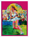 'Girl tennis player,' May/June 1976