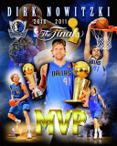 Dallas Mavericks - Dirk Nowitzki MVP Portrait Plus