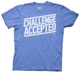 How I Met Your Mother - Challenge Accepted Type (Slim Fit) T-Shirt