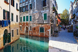 Buy Morning Light on the Canal, Venice Italy at AllPosters.com