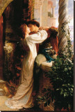 Romeo and Juliet Stretched Canvas Print