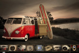 VW- Kombi Surfboard,