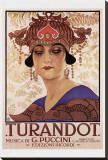 Turandot Stretched Canvas Print