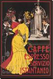 Caffe Espresso Stretched Canvas Print