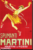 Martini and Rossi, Spumanti Martini Stretched Canvas Print