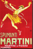 Martini and Rossi, Spumanti Martini Stretched Canvas Print