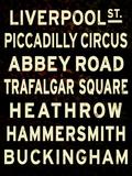 London Sign