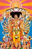 Jimi Hendrix - Bold as Love Poster