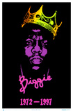 Notorious B.I.G. Blacklight Poster