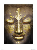 Buddah Face Art Print