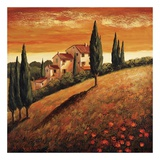 Sunset Over Tuscany I