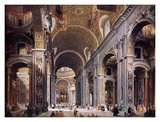 Buy Interior of St. Peter's, Rome at AllPosters.com