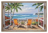 Buy Tropical Terrace for Two at AllPosters.com