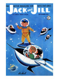 A Day in Outerspace - Jack and Jill, September 1957