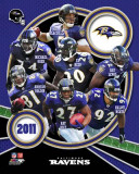 Baltimore Ravens 2011 Team Composite