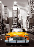 New York-Taxi Giant Poster