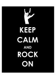 Keep Calm and Rock On (Hand)