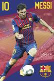 Barcelona- Messi Poster