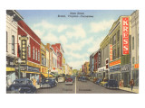 State Street, Bristol, Virginia and Tennessee