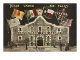 Texas under Six Flags, Alamo, San Antonio, Texas