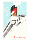 Bon Voyage, Steamship Disembarking