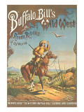 Buffalo Bill's Wild West Show Poster, Scout on Horse