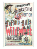 Buffalo Bill's Wild West Show Poster, England